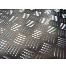 Alumínium lemez cseppmintás quintett 5754/H114/2,5*1000*2000 (db.)