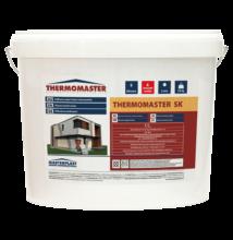 THERMOMASTER szilikon vékonyvakolat, kapart hatású 1,5 mm / 25kg (vödör)