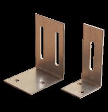 L rögzítő erősített merevítő profilhoz 100 × 50 × 45 mm (db)