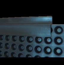 TERRAPLAST PLUS-AC lezáróprofil 2m / szál