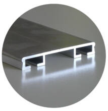 Alumínium leszorító profil 50*2000mm