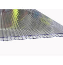 Üregkamrás polikarbonát lemez, víztiszta, Strong13/ 6*2100*6000 (db)