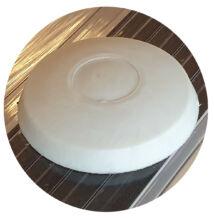 Leszorító sapka fehér 50mm (db)