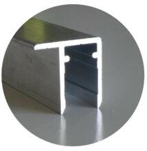 Alumínium vízorros profil 10*6350 mm