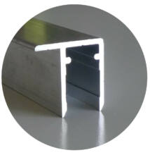 Alumínium vízorros profil 40*6050 mm