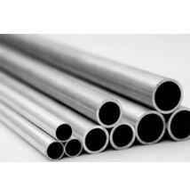 Alumínium cső AlMgSi0,5/F22/80*10 (szál, 3m.)