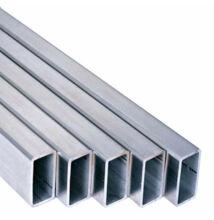 Alumínium t.zártszelvény AlMgSi0,5/F22/80*40*2 (szál, 6m.)