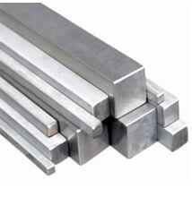 Alumínium négyzetrúd, 6082 T6/25 (szál, 6m.)
