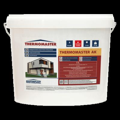 THERMOMASTER akril vékonyvakolat, kapart hatású 1,5 mm / 25kg (vödör)