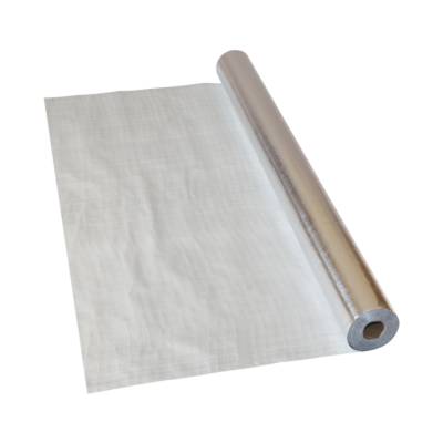 ISOFLEX ALU polietilén-szövet alapú párazáró fólia 75m2 (tekercs)