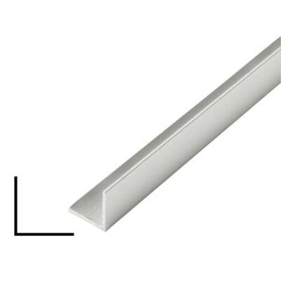 """Alumínium """"L"""" profil, AlMgSi0,5/F22/60*60*2 (szál, 6m.)"""