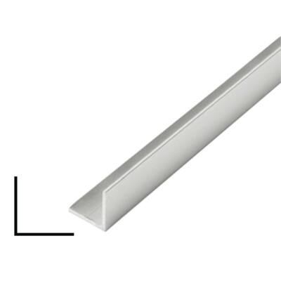"""Alumínium """"L"""" profil, AlMgSi0,5/F22/40*40*2 (szál, 6m.)"""