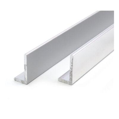 """Alumínium """"L"""" profil, AlMgSi0,5/F22/100*100*8 (szál, 6m.)"""
