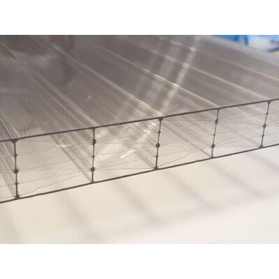 Üregkamrás polikarbonát lemez, víztiszta, Lexan30/ 25*2100*7000 (db)