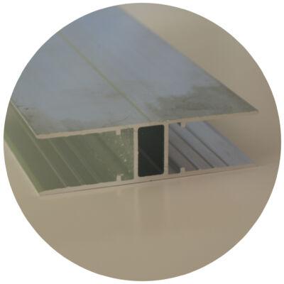 Alumínium soroló H profil 16*3000 mm