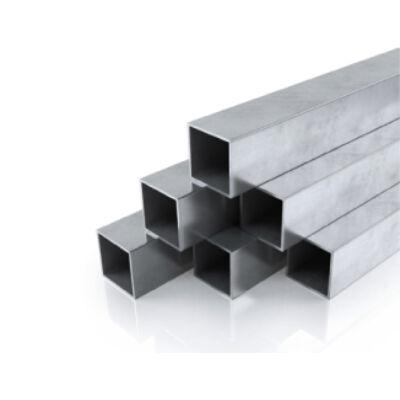 Alumínium zártszelvény AlMgSi0,5/F22/100*100*3 (szál, 6m.)