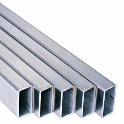 Alumínium t.zártszelvény AlMgSi0,5/F22/80*60*3 (szál, 6m.)