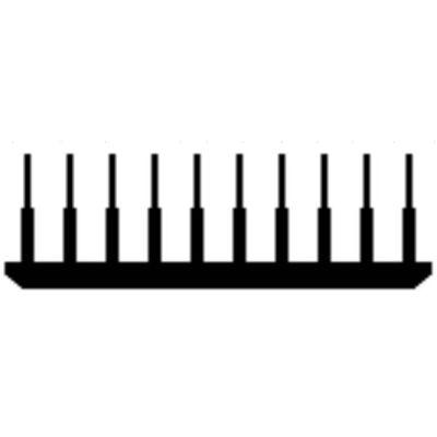 Alumínium hűtőborda profil, AlMgSi0,5/F22/125,2*50/ méter