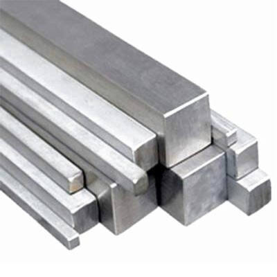 Alumínium négyzetrúd, 6082 T6/35/ méter