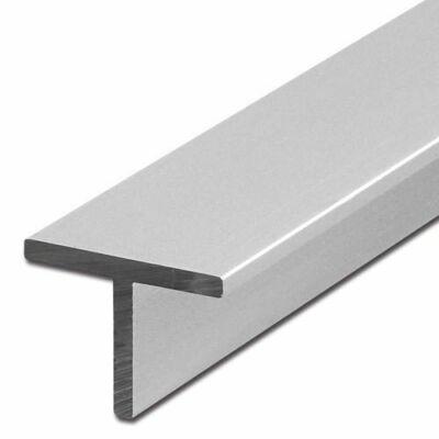 """Alumínium """"T"""" profil, AlMgSi0,5/F22/25*25*2 (szál, 6m.)"""